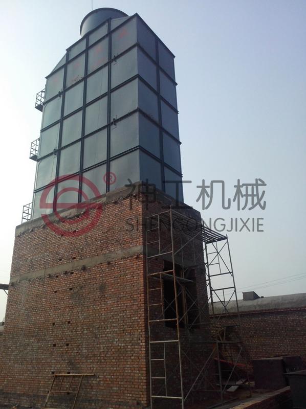 河北邯郸隆益建材烘烧一体两条线