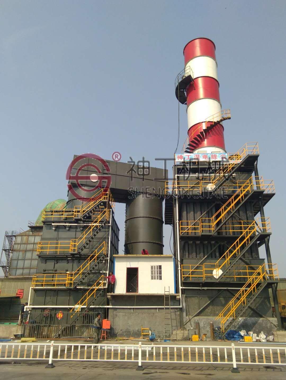 SGCC湿式静电除尘器(塔外风道)